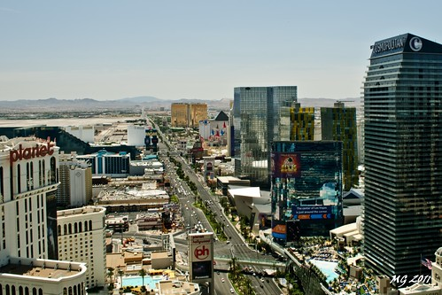 map of hotels on las vegas strip 2011. Las Vegas Strip From Hight