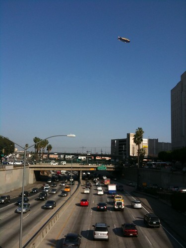 The 101, Los Angeles, with zeppelin