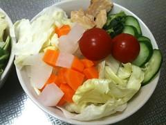 朝食サラダ(2011/5/20)