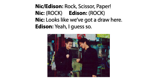 Rock, Scissor, Paper Draw!