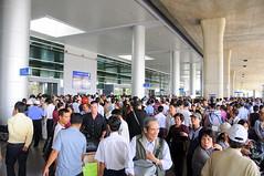Outside the new terminal of Tân Sơn Nhất International Airport