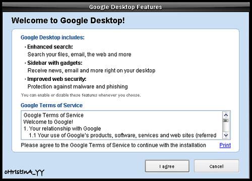 Welcome to Google Desktop