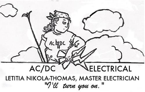 Ali's AC-DC ad