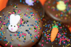how sweet it is (latisha610) Tags: food bunny cookies easter yummy chocolate sprinkles oreo easterbunny carrott