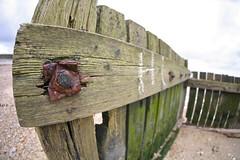 IMG_6010 (Fiona Howarth) Tags: beach kent fisheye bolt groin minnisbay