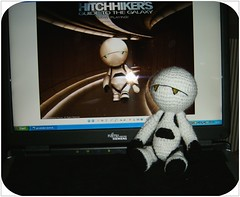 Marvin - The Hitchhikers Guide to the Galaxy I (Ruby's World) Tags: crochet galaxy guide amigurumi marvin hitchhikers anhalter