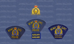 Royal Canadian Mounted Police (RCMP) Badge & Patches (Chris ^.^y) Tags: canada french uniform order royal reserve police canadian special collection badge cop mounted british law rcmp enforcement collectible patch insignia polizei collect officer memorabilia royale collecting collectable  polis constable polizia politie  voluntary grc gendarmerie polica  constabulary auxiliary    politia       polcias             auxiliaire
