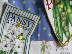 seeds! (calamity kim) Tags: embroidery apron smock calamity fabriccollage floursack rawedge botanicalbetty calendarlinen