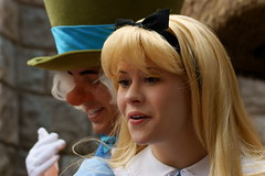 Alice & Mad Hatter (SDG-Pictures) Tags: california costumes fun happy costume alice disneyland joy dressup happiness disney entertainment characters southerncalifornia orangecounty anaheim magical enjoyment themepark madhatter fantasyland aliceinwonderland roles role employees entertaining roleplaying disneylandresort disneycharacters magicmakers disneythemeparks disneylandcastmembers makingmagic disneycast may52008 themeparkfun takenbystepheng rolesmagical