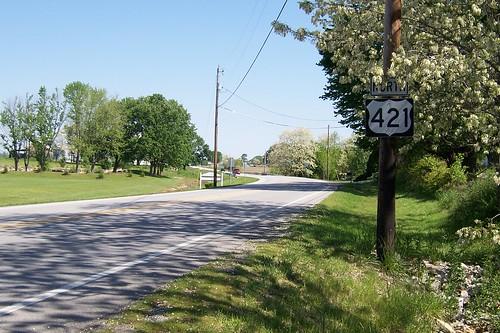 US 421 (Michigan Road), Napoleon, Indiana