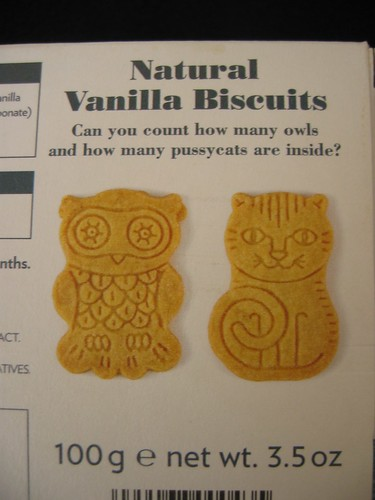 Owl & Pussycat cookies