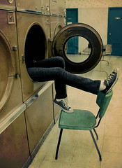 just hangin' out (randi bee) Tags: texture bodylanguage converse chucktaylors alyx laundrymat launderettes 2bdasest