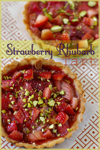strawberry rhubarb tart3