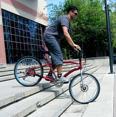 CF stairs 1 (vikapproved) Tags: street calgary bike bicycle vik alberta forward crank rans viktlr vikcf