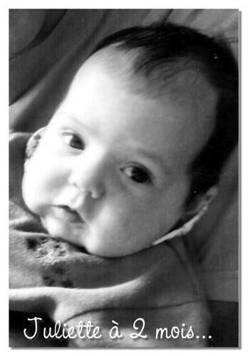 Juliette - 2 mois