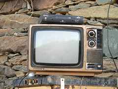 Old TV   (Abdullah M) Tags: old fz20 tv saudi     sanyotv