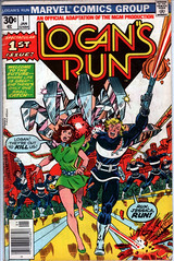 Logan's Run 1 (Todd Wilson) Tags: comics marvelcomics logansrun 1stissues