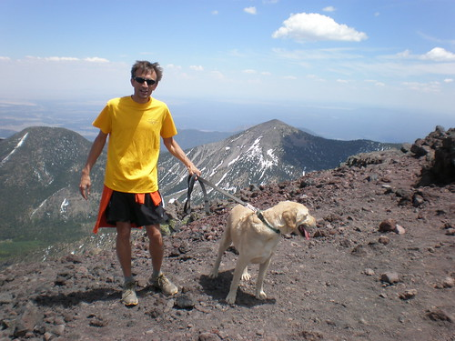 Jon and Gus at Humphreys Peak