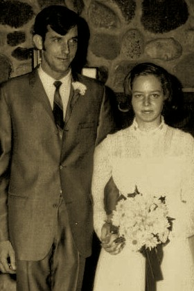 our wedding pic '69