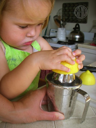 making lemonade!