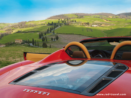 red tour ferrari travel italy