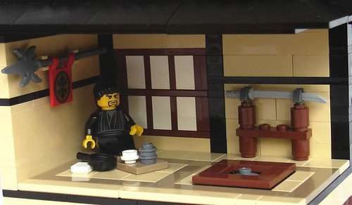 Japanese Tea House By Mister Oo7 The Brothers Brick