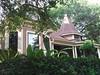 Lush Front Yard of the Davidson-Bradbury House
