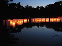 Lanterns pre-Sunset