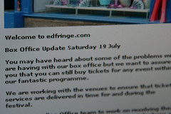The latest apology on edfringe