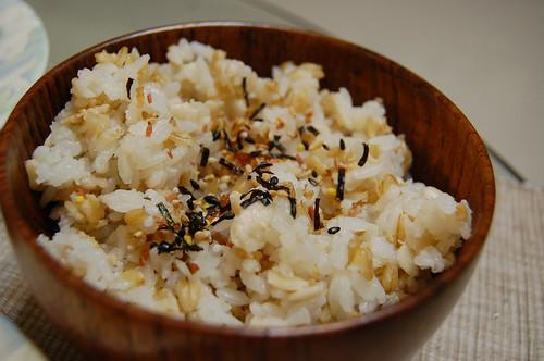 三寶燕麥米飯
