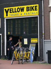 it's easy to find a bike in Amsterdam (for credit see below)