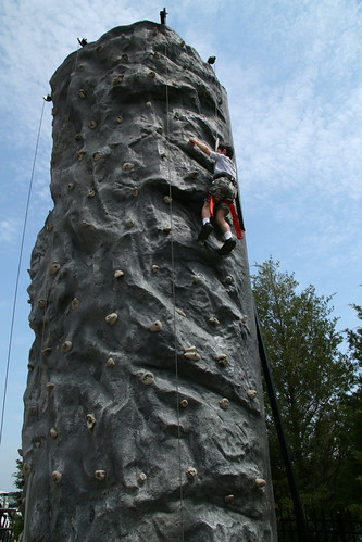 Adam nearly reaches the top