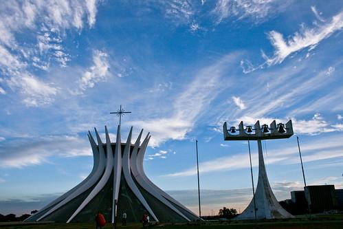 Brasilia cathedral por Eduardo Deboni.