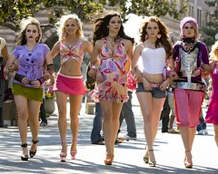 "Rumer Willis and cast in scene from ""The House Bunny"" (beastandbean) Tags: celebrity film goofy comedy hollywood movies behindthescenes americanidol playboybunny sororityhouse annafaris rumerwillis katherinemcphee celebrityoffspring missgoldenglobes thehousebunny promotionalpic"
