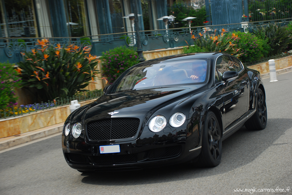 Bentley Continental GT rolling