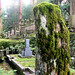 Moss on dressed stone - Okunoin cemetary