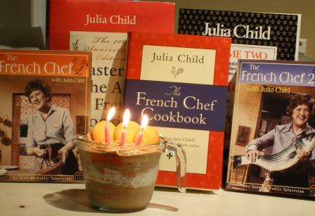 Julia Child Chocolate Mousse for her birthday