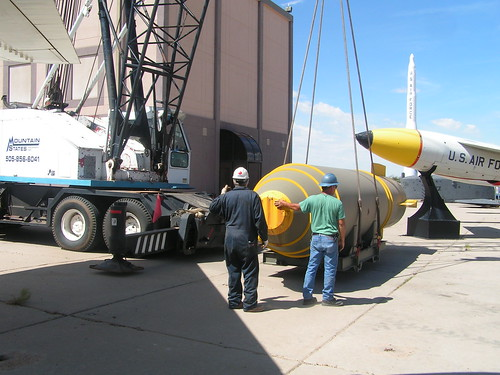 National Museum of Nuclear Science & History - plane relocation project