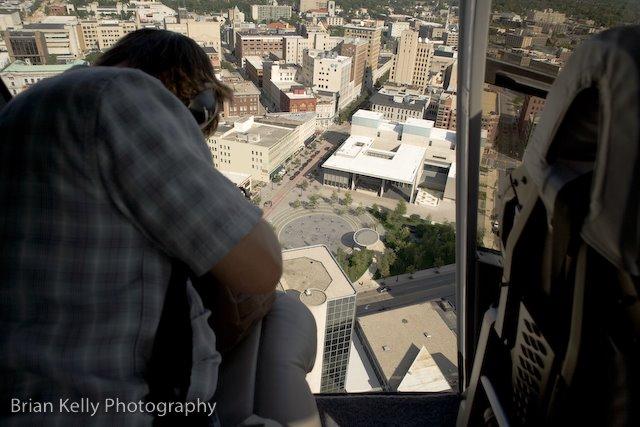 Above Grand Rapids