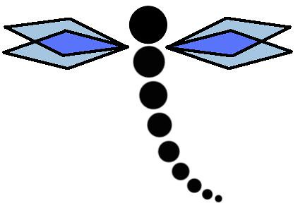 I just had this idea for a simple dragonfly tattoo while I was doodling at