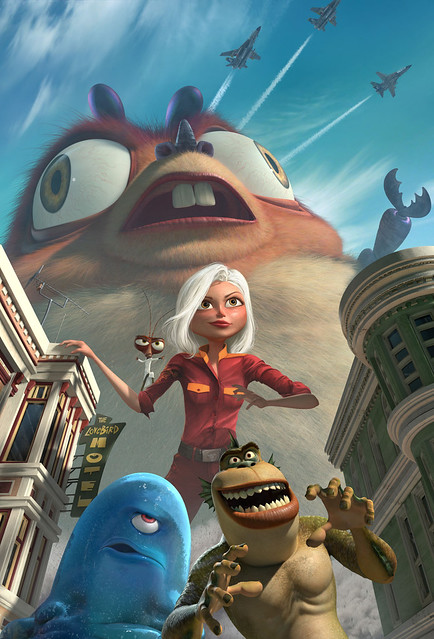 MONSTERS VS. ALIENS by coti2008