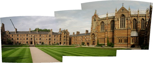 Keble College panorama