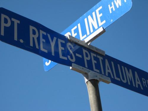Pt. Reyes Petaluma Rd