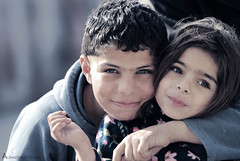 ME AND MY SISTER (AL-SHAIJY) Tags: portrait nikon kingdom jordan kuwait hamad q8 the    hashemite      d40x   alshaijy