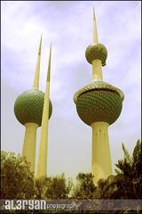kuwait towers (Abdulkareem Alaryan) Tags: sky tower ball towers kuwait q8