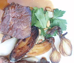 Hangar Steak & Braised Shortribs, the Foundry