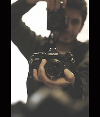 Say hello to my little baby ! (HAMED MASOUMI) Tags: camera new old film analog canon iranian canona1 hamed 30d   littlebaby masoumi hamedmasoumi