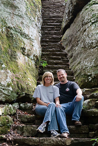 Connie and Tim at Bell Smith Springs