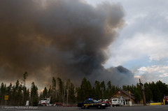 Royce Butte Fire (H2Meyer Photography) Tags: oregon fire dramatic wildfire crescentlake highway58 roycebuttefire