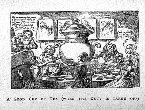 12- Una buena taza de té (cuando el deber se termina).